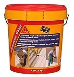 Revestimiento flexible de impermeabilizante para techos (/terrazas/fachadas/chapas onduladas–SIKALASTIC color–5kg