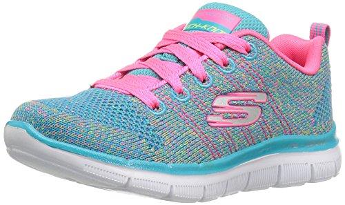 Skechers Mädchen Skech Appeal 2.0 - High Energy Sneaker, Mehrfarbig (Multicolour), 30 EU