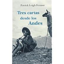 Tres Cartas Desde Los Andes (Elba)