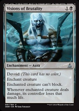 Magic: the Gathering - Visions of Brutality - Visioni di Brutalità - Oath of the Gatewatch
