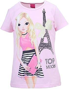 Niñas Top Model Camiseta, rosa