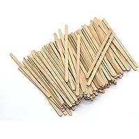 Palillos de madera de abedul desechables para agitar el té o café, ...