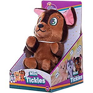 IMC Toys Peluche Club Petz Mini Tickles Solletico, Cagnolino