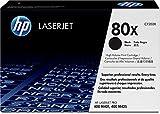 HP 80X Schwarz Original LaserJet Tonerkartusche mit hoher Reichweite