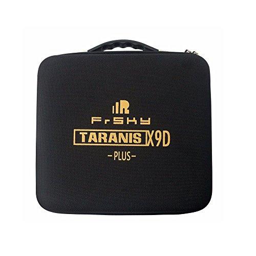 Crazepony Original Frsky Taranis X9D / X9D Plus Transmitter EVA Hard Shell Bag Portable Protective Storage Box Case Handbag Spare Parts Accessories