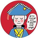 Petit Jour PC984A - Plato infantil para aprender modales [Importado de Francia]