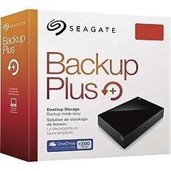Seagate Backup Plus STDT8000300 8TB Desktop External Drive (Black)