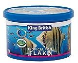 King British Tropical Fish Flake Complete Food (with IHB) 28g - Valentina Valentti UK