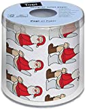 Christmas Toilet Paper - Cheeky Santa!