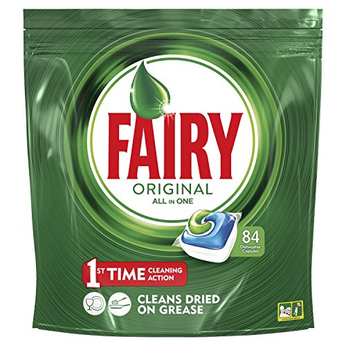 Fairy Original - All-in-one Spülmaschinentabs 84 Cápsulas