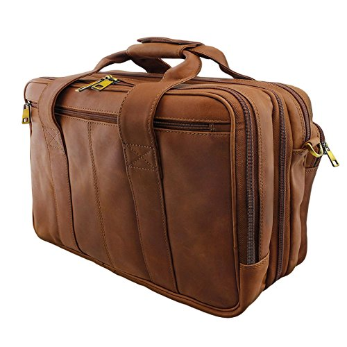 e72090a025 STILORD 'Leopold' Grande borsa in pelle da Insegnante Professore  Portadocumenti a tracolla per Ufficio Lavoro A4 raccoglitori in cuoio Uomo  Donna