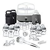 Tommee Tippee Closer to Nature Complete Feeding Set, Grey