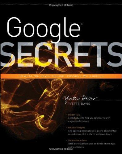 Google Secrets by Yvette Davis (2011-10-25)