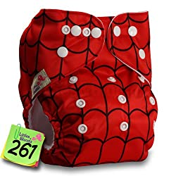 Soledi Baby Washable Reusable Real Cloth Pocket Nappy Diaper Cover Wrap, suits Birth to Potty One Size Nappy Diaper Cover