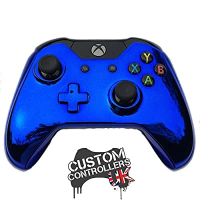 Xbox One Custom Controller - Chrome Blue Edition