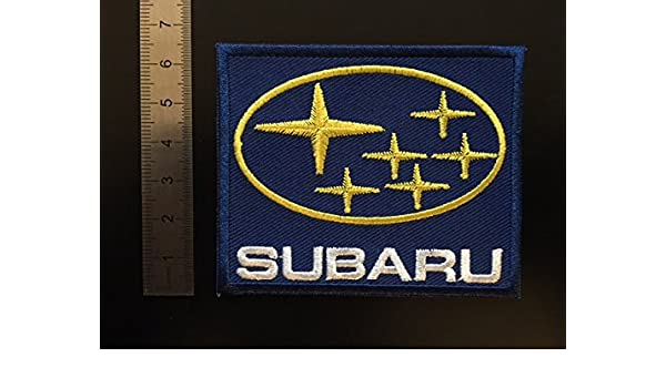 ECUSSON PATCHES AUFNAHER TOPPA THERMOCOLLANT SUBARU