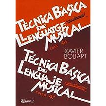Técnica básica de lenguaje musical 4: Grado elemental
