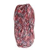 P Prettyia 100g Textilgarn, Jersey- Garn, aus Polyester, ca. 30m Lauflänge, Stoffgarn, Farben Auswahl - 9