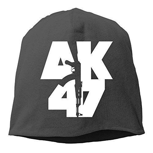 yiyuanyuantu AK-47 Guns Adult Casual Fashion Durable Winter Warm Fleece Hat -