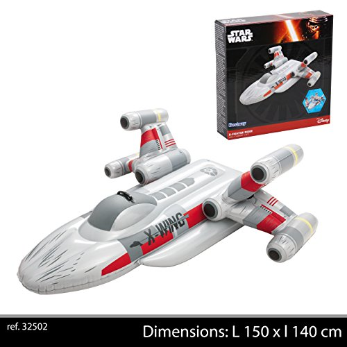 Bestway - Star Wars X-Fighter Wellenreiter, 149 x 133 x 48 cm