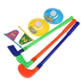 TwinTraders NUOLUX Toy Golf Set Plastic for Toddler Kid Parent-child Games