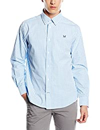 Crew Clothing - Chemise Casual - coupe droite - Manches Longues Homme