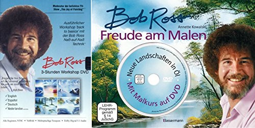 OB ROSS WORKSHOP / MALKURS 2 DVD + Buch FREUDE AM MALEN ()