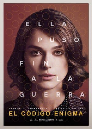 THE IMITATION GAME - Keira Knightley - Argentinian Imported Movie Wall Poster Print - 30CM X 43CM (The Imitation Game Sheet Music)