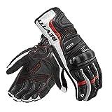 Revit Stellar 2 Handschuhe L Weiß/Rot