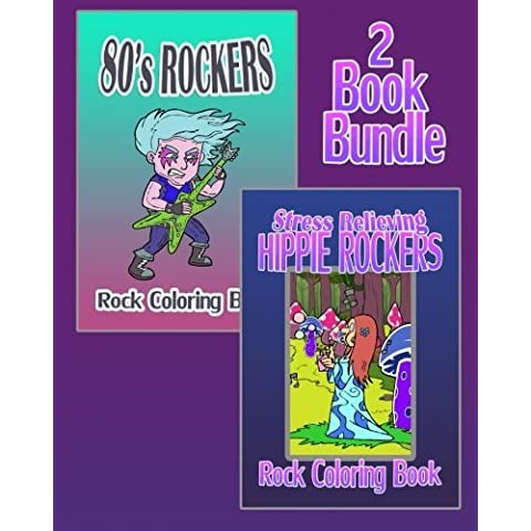 Rock Coloring Book: 80's Rockers & Stress