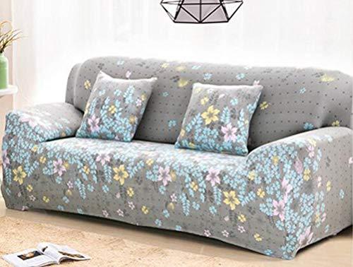 YJBear 1PC europäischen Polyester Rutschfeste Möbel Cover Protector Elastic Liebesschaukel Bezug für Sofa Stretch Sitz Stuhl Bezüge...