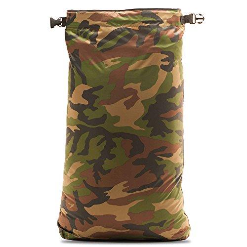 AquaQuest Rogue Trockentasche - 100% Wasserdicht - 10L, 20L, 30 L oder 3-Stück Kombo - Camo Tarnung oder Olivgrün camouflage