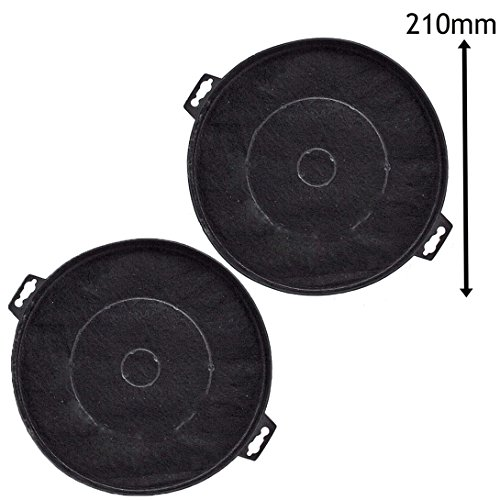 Baumatic S1 - Filtros de carbono para campana extractora (compatible con BT6.3,...