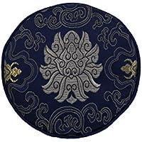 Pad für Klangschale mit diversen traditionellen Mustern Ø ca. 18 cm -9870-BS (blau/silber Lotus) in verschiedenen... preisvergleich bei billige-tabletten.eu