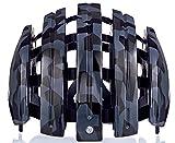 Carrera Fahrradhelm Foldable GTE Unisex Black Shiny camo 58-61