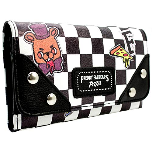 Five Nights at Freddys Lets Eat Freddy Fazbear Tri-Fold Purse
