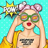 Pop Art- Coloring Book for Adults: adult coloring book | coloring book for pop art fans | Write your own Comic Story | Comic Coloring Book | gift ideas | 120 Pages | 21,59x21,59'