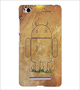 XIAOMI MI4I ANDROID Designer Back Cover Case By PRINTSWAG
