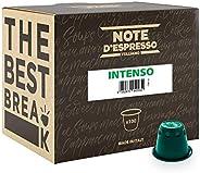 Note d'Espresso Intenso Coffee Capsules exclusively Nespresso* machine Compatible 5.6g x 100 Capsules