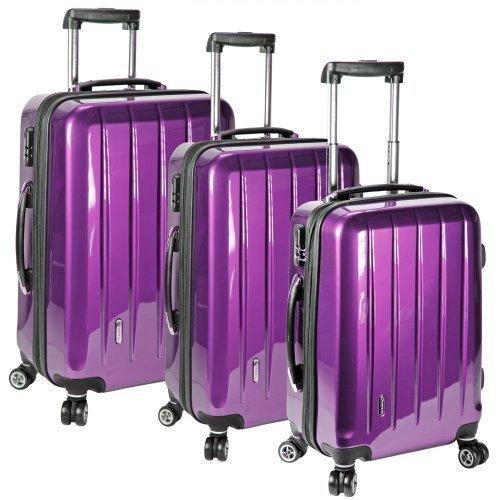 Check in Set de bagage Violet Violet taille unique
