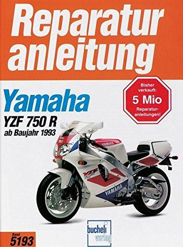 Preisvergleich Produktbild Yamaha YZF 750 R (ab Baujahr 1993)/ SP (Reparaturanleitungen)