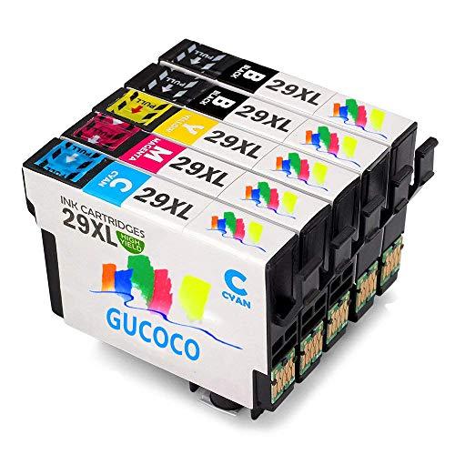 GUCOCO 29XL Reemplazo Epson 29 Cartuchos Tinta Compatible