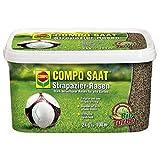 COMPO SAAT Strapazier-Rasen 2 kg | ein optimaler Spiel- u. Sportrasen
