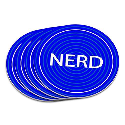 Nerd Geek Nerdy Untersetzer (Gläser Nerdy)