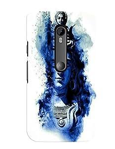 Citydreamz Lord Shiv/Spiritual/Gods/Trishul Hard Polycarbonate Designer Back Case Cover For Motorola Moto G Turbo Edition