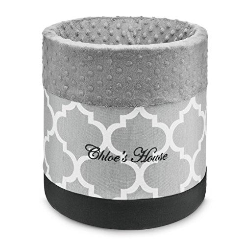 *Chloe's House BX.LIS-GR.RX Box für Spielzeugkorb Lissabon, grau*