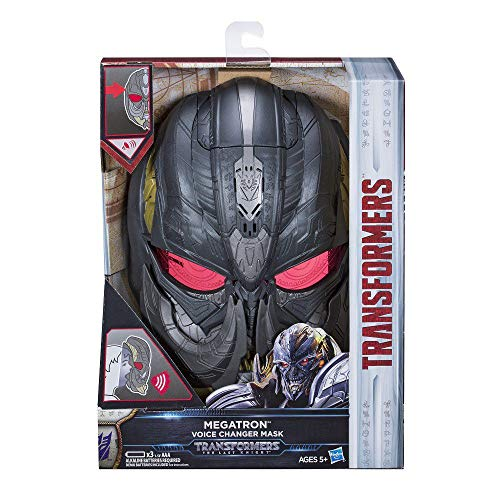 Transformers. Spielzeug Figuren The Last Knight Megatron Maske Mit Stimmenverzerrer (Einfach Transformer Kostüm)