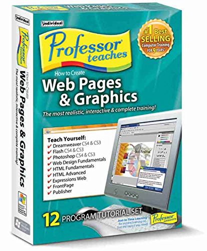 Individual Software - Professor Teaches How to Create Web Pages & Graphics