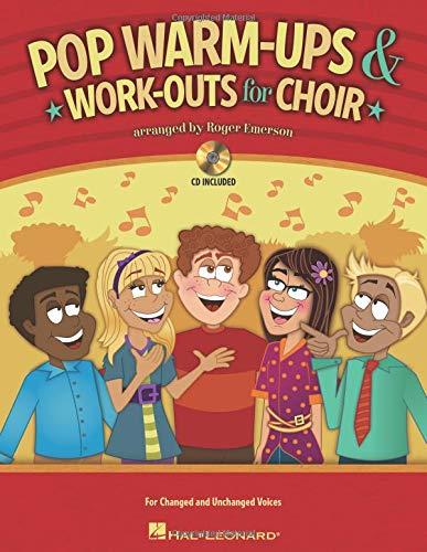 Roger Emerson: Pop Warm-ups & Work-outs For Choir (Lehrbuch Chor & Gesang): Noten, (mit) Tonträger, Lehrmaterial für Gesang, Chor (Methodology Chorals) - Ups Emerson
