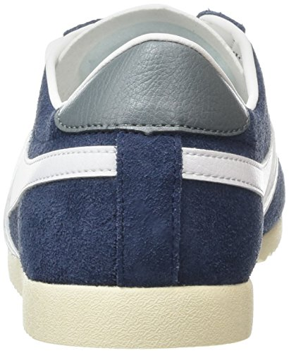 Gola Bullet Suede, Baskets Basses Homme Blau (Marineblau/Weiß)